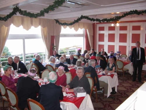 Christmas Lunch 2012 at the New Holmwood Hotel (part)