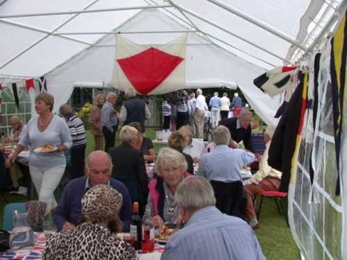 2012 Garden Party in full swing