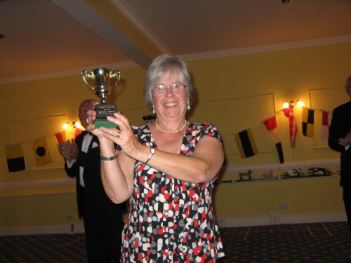 Dog Racing Champion, Jane Eastwood March 2011