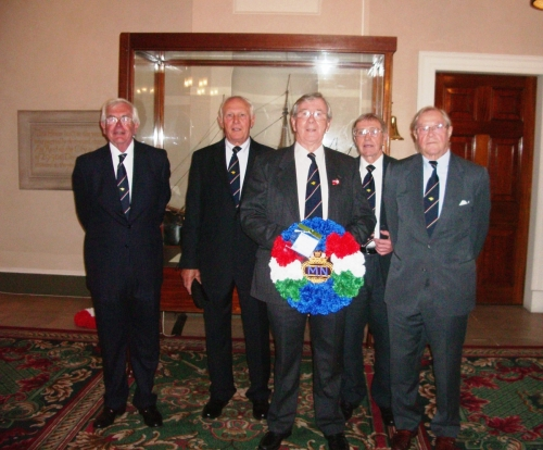 Merchant Navy Day 4th September 2011, MMW party at Trinity House.