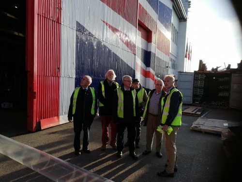Visit to Wight Shipyard 4th December 2019